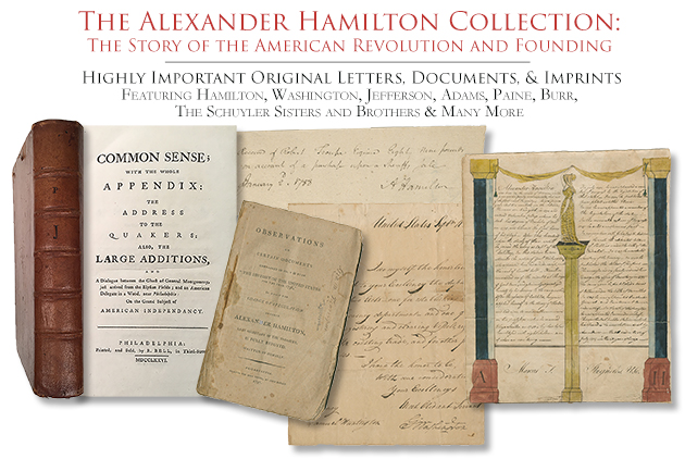Alexander Hamilton Collection Highlights